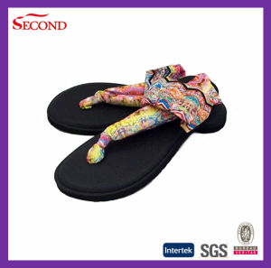 Latest Design Strap Ankled Elastic Sandals for Lady