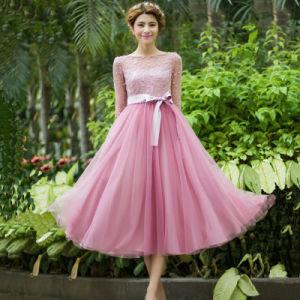 China 2016 Newest Design Woman Girls Big Pendulum Dress Pink Cute ...