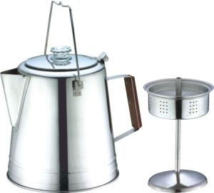China 14cups 28cups Stainless Steel Camping Coffee Pot Coffee Percolator China Coffee Pot And Coffee Percolator Price