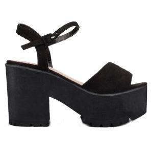 Heel Ladies Platform Sandals Shoes