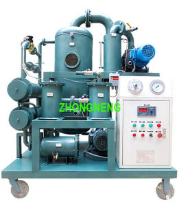 Used Transformer Oil Vacuum Machine, Zhongneng Oil Purifier for Sale pictures & photos