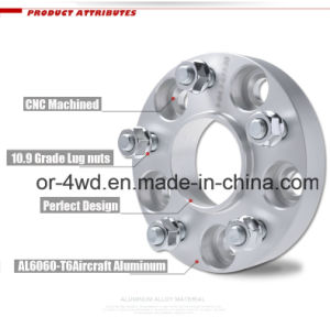 High Quality 6061 T6 Billet Forged Aluminum Wheel Spacer pictures & photos