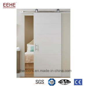 Modern Interior Solid Wood Sliding Pocket Doors