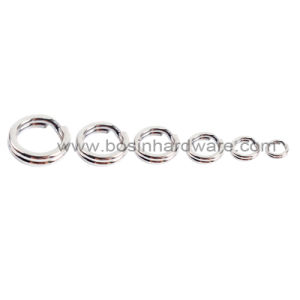 6mm Stainless Steel Round Fish Split Ring pictures & photos