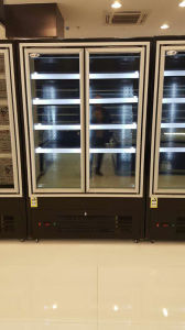 Upright Style Order Beverage Refrigerator Showcase Cooler pictures & photos