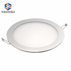 Led Round Recessed Ceiling Flat Panel Light Downlight Ultra Slim Cool And Warm White Led Lights