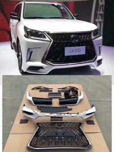 Toyota Lexus Lx570 Trd Version 2017 2018 2019 Body Kit