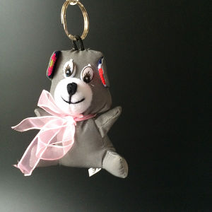 Plush Stuffed Safety Reflective Toy Hanger for Promotion Gift pictures & photos
