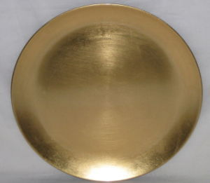 China Golden Charger Plate/Disposable Charger Plates/PP Charger ...