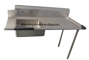 Stainless Steel Solided Dish Table/Wash Machine (DDT48R-KS)