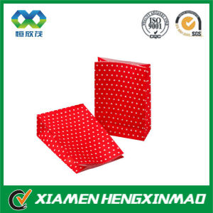 Popular Promotional China Made Red Paper Gift Bag