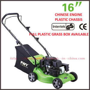 "EPA/GS/EMC/CE 3.5HP 123CC 16"" Hand-Pushed Gasoline Lawn Mower (XYM158-1CP)"
