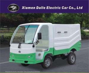Garbage Truck Electric Garbage Dumping Vehicle (DEL1021Q) pictures & photos