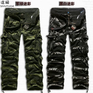 2014 Fashion Cotton Men Fashion Garment Dyed Pants pictures & photos