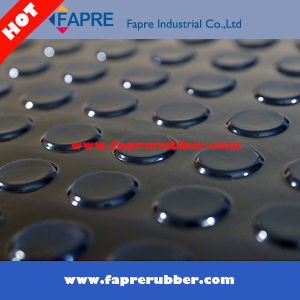 Anti Slip Round Stud Rubber Floor Mat