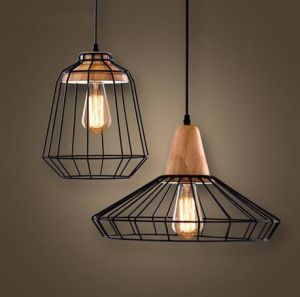 Metal Cable Pendant Lamp with Wood Deco. (WHP-648) pictures & photos