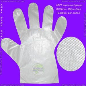 Disposable Textured PE Gloves pictures & photos
