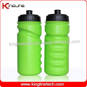 Plastic Sports Water Bottle, Plastic Sports Bottle, 600ml Plastic Drink Bottle (KL-6616) pictures & photos