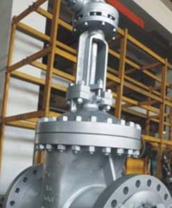 Bolted Bonnet Cast Steel Flanged Gate Valve