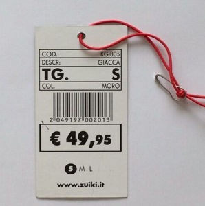 Round Paper Hangtag/Price Tag/ Swing Tag