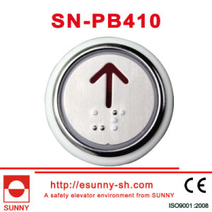 Round-Shaped Push Button with Braille (SN-PB410) pictures & photos