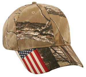 USA Flag Polyester Caps