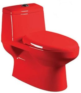 Wash Down One-Piece Toilet (A-0198C)