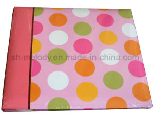 Fashion Dots Paper Cover Scrapbook Album/Photo Album/Scrapbook