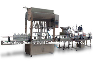 Cost-Effective Automatic Liquid Filling Machine with CE & Capping pictures & photos