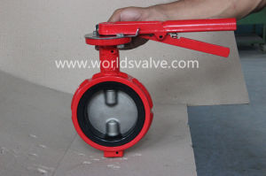 Ductile Iron Industrial Valve with Double Shaft (D71X-10/16)