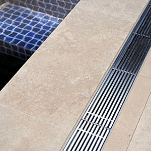 China Stainless Steel Grid Floor Drain Trench Cover