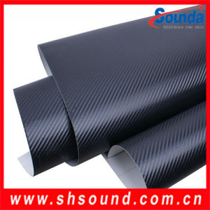 Air Free Bubbles 3D Carbon Fiber Stickers for Car, Auto Wrapping Cover Film pictures & photos