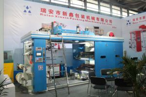 Gyt41000 High Speed Plastic Flexo Printing Machine with PLC Touch Screen