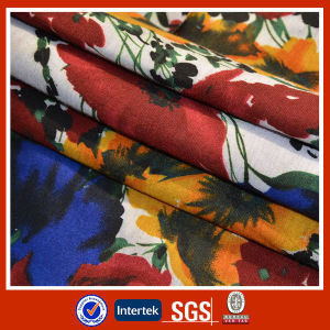 China Latest Polyester Knitted Print Design Jersey Fabric for T-Shirt pictures & photos