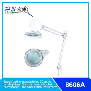 3D/5D/8d Table Mounted Magnifying Glass pictures & photos