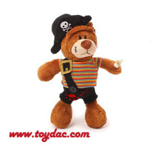 Plush Cartoon Pirate Bear