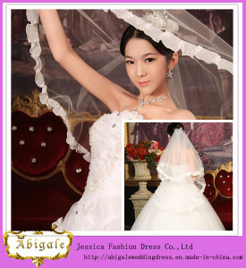 High Quality Tulle Large Wedding Veils and Accessories (MI 3563)