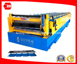 Metal Sheet Double Layer Roofing Machine pictures & photos