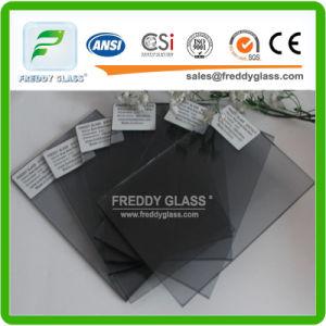 3mm-12mm Euro Grey Tinted Glass for Buildinlg/Window in Good Quality pictures & photos