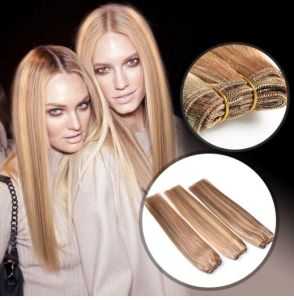 Top Quality 8A Double Drawn Trade Insurance Brazilian Remy Human Hair Weft pictures & photos