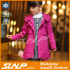Spring Kids Girl Coat for Children′s Clothes
