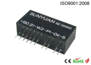 PT100/PT10/Cu50/Cu100 to 0-5V/ 0-10V/ 4-20mA/ 0-20mA Isolated Transmitter pictures & photos