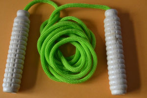 Factory Wood Handle Jump Rope pictures & photos