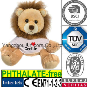 EN71 PP Cotton Stuffed Animal Lion Plush Toy