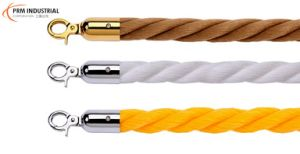 "Affordable 1"" Polypropylene Rope for Crowd Control Barrier pictures & photos"