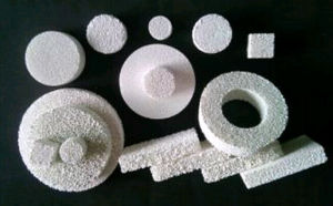Alumina Ceramic Foam Filter for Aluminium Foundry pictures & photos