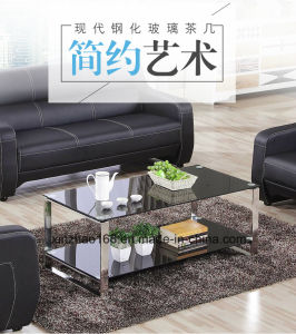 China Small Round Glass Coffee Table With Stainless Steel Frame China Living Room Table Home Table