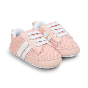 Newborn Baby Boys Girls Premium Soft Sole Infant Prewalker Toddler Sneaker Shoes First Swalkers