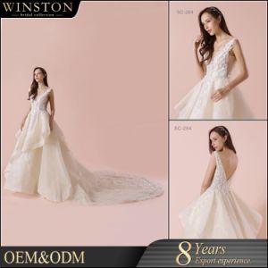 2018 New Design Custom Made Korean Style Wedding Dress