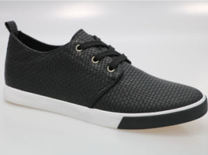 China Straw Mat Embossing Pu Fashion Smart Casual Men S Shoes